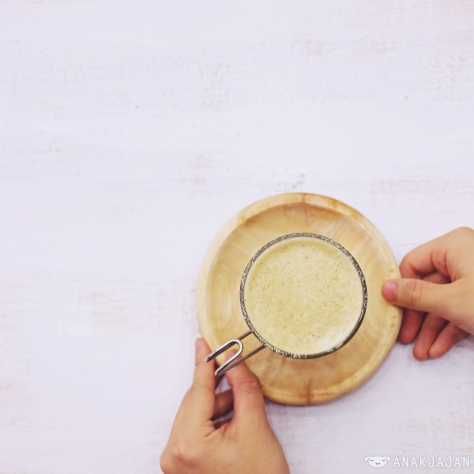 Kashoku Latte IDR 30k (Hot)
