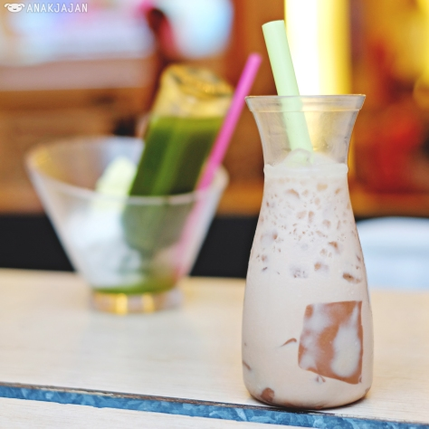 Banana Milk with Chocolate Pudding IDR 20.9k