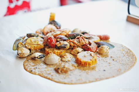 Mix Bag 1 with Asian Addict Seasoning (Medium Spiciness) IDR 110k