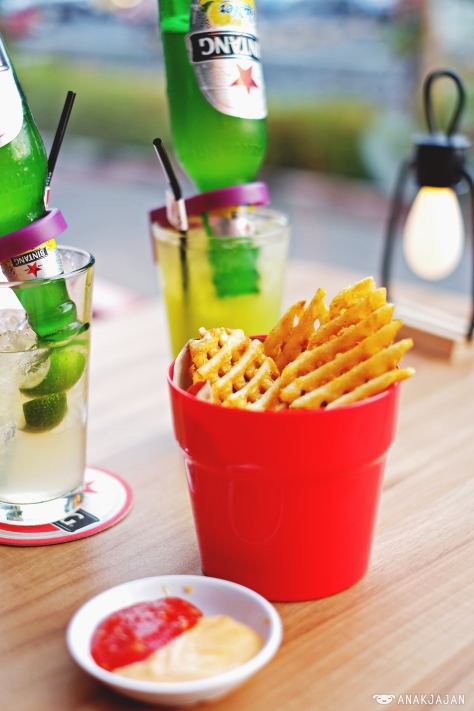 Fishnet Fries IDR 19.9k