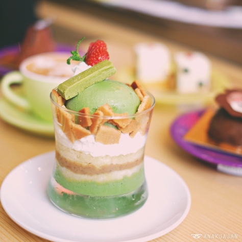 Mighty Green Parfait IDR 37k