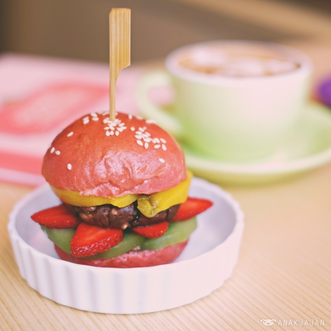Nutella Burger IDR 35k