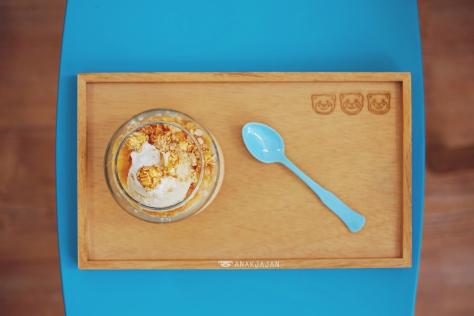 Salted Caramel Creamy Pot IDR 37k