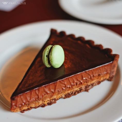 Mint Chocolate Pie IDR 75k