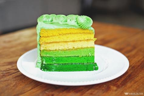 Srikaya Pandan Cake IDR 28k