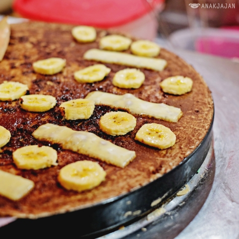 Chocolate Cheese Banana IDR 17k