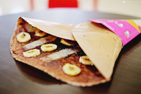 Chocolate Cheese Banana IDR 17k