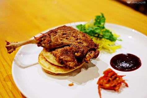 Szechuan Style Crispy Duck IDR135k