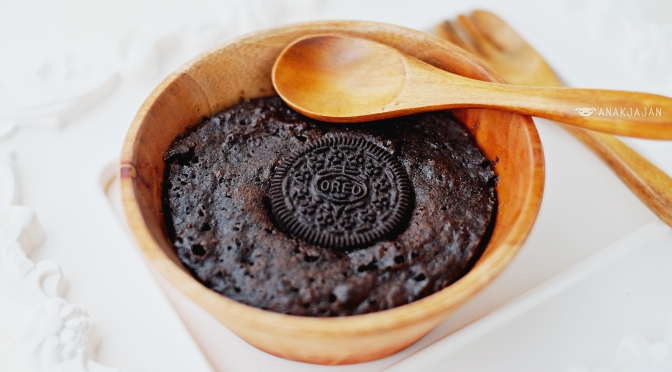 RECIPE: Microwave Oreo Brownie in Less than 5 Minutes