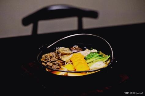 Sukiyaki Nabe IDR 80k