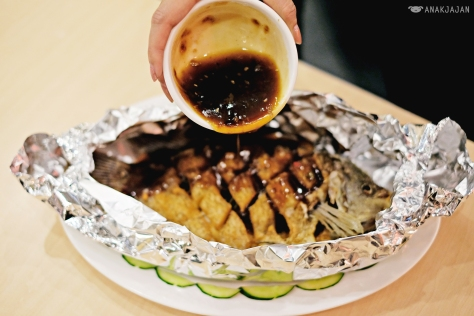 Fried Gurami Fish with Grilled BBQ sauce IDR 68k