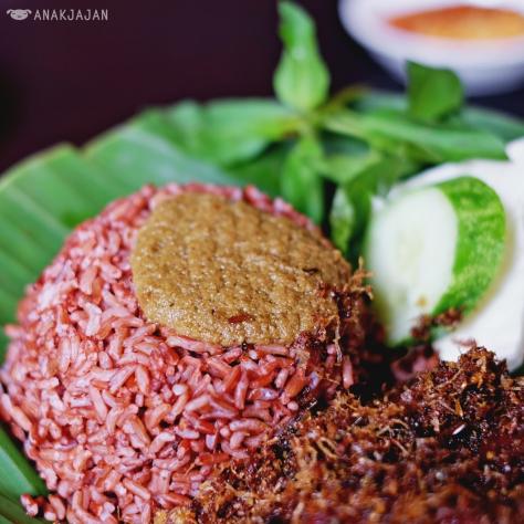 Nasi Merah IDR 5k