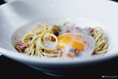 Bacon Carbonara IDR 78k