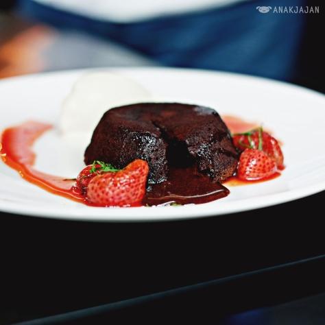 Valrhona Chocolate Fondant IDR 65k