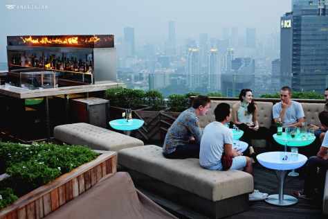 Could Lounge Living Room Is One Of The Hottest Spot At Jakarta With Best 360 Degrees City View From 49th Floor Cloud