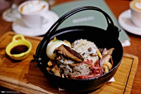 Foie Gras Rice IDR 165k