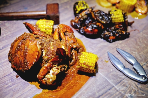Crab with Captain Mix sauce