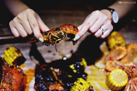 Crayfish with Blackpepper sauce