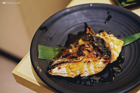 Salmon Head Teriyaki IDR 50k