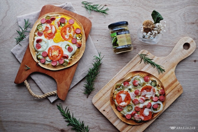 RECIPE: Easy Tortilla Pizza