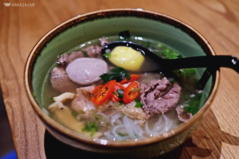 Pho Beef Combination IDR 75k