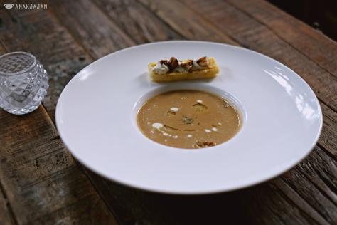 Truffle Chestnut Soup IDR 67k