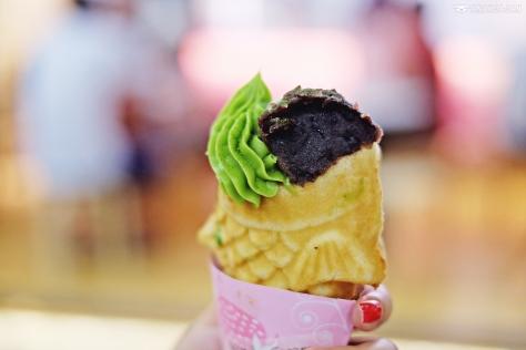 Tai-Parfait Matcha & Azuki with Matcha Ice Cream IDR 43k