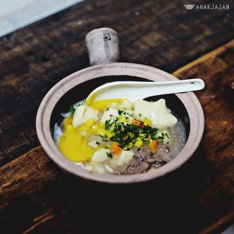 Claypot Rice IDR 25k - Claypot Po Po