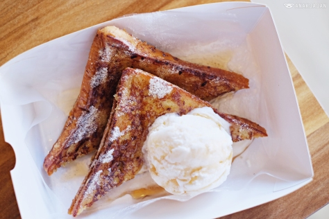 French Toast with Ice Cream IDR 40k