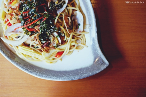 Garlic Spaghetti IDR 108