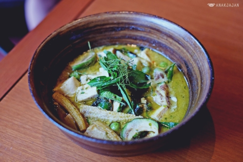 Green Curry Vegetables IDR 80k