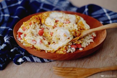 Tom Yum Baked Rice