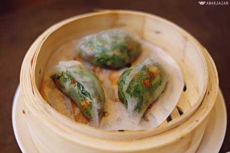 Steamed Spinach Dumpling with Shrimp IDR 26.8k