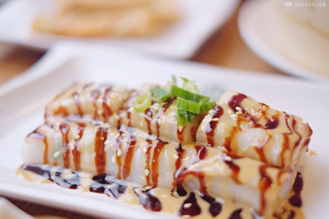 Cheong Fun or Vermicelli Roll with Sweet Sesame Sauce IDR 28.8k