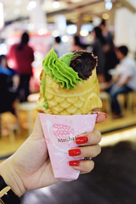 Tai-Parfait Matcha & Azuki with Matcha Ice Cream IDR 43k