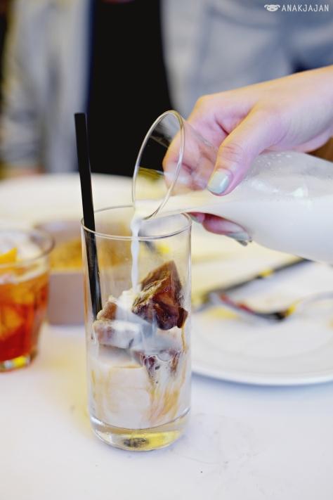 Milano Iced Latte IDR 75k