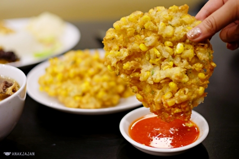 Corn Fritters IDR 18k (3pcs)