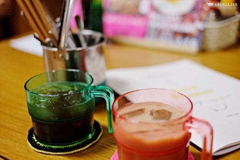 Refill (Green tea/Coffee/Tea/Chocolate Milk/Lemon tea) IDR 25k