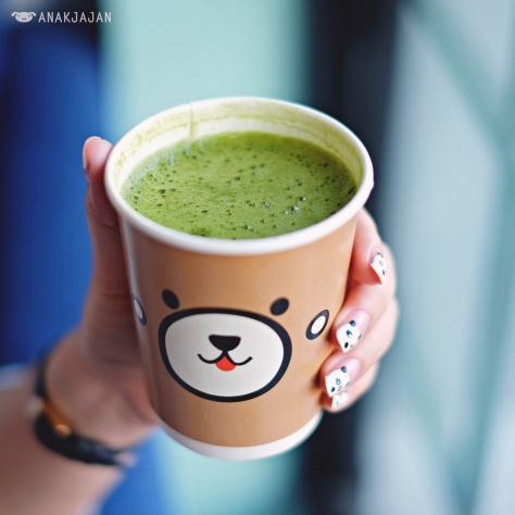 Greentea Latte IDR 20k