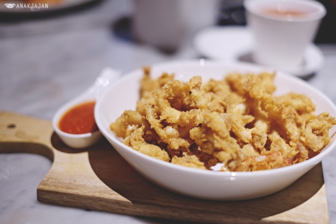 Deep Fried Calamary IDR 65k
