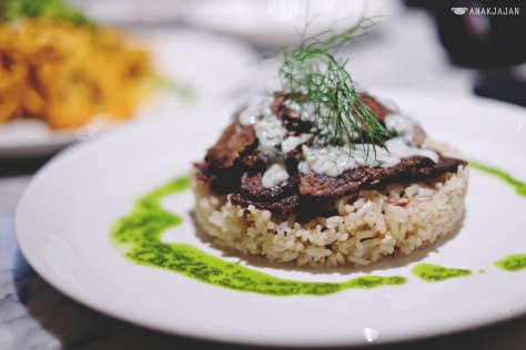 Beef & Lamb Gyros with Rice Pilaf IDR 75k