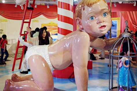 naughty giant baby