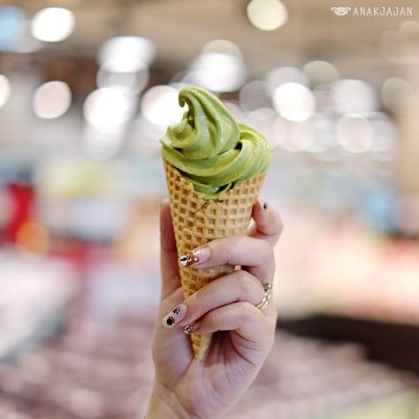 Matcha Softcream IDR 10k