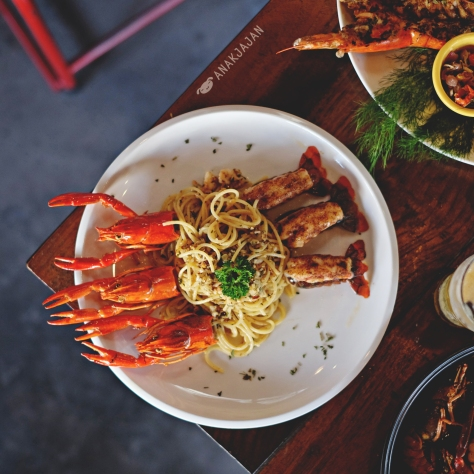 Crayfish Spaghetti IDR 72k