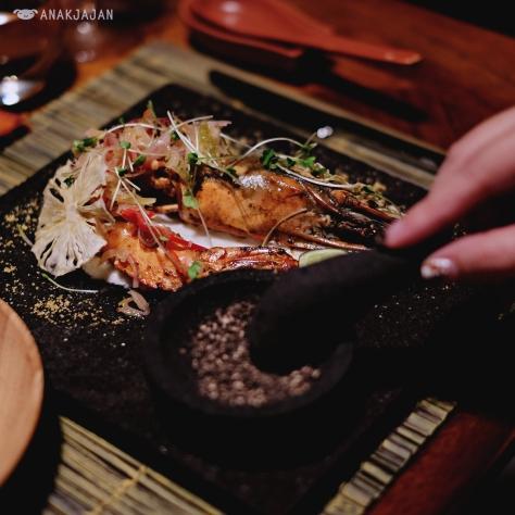 Dinner - Pan Fried Black Pepper Shrimp