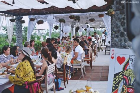 Ubud Food Festival Mad Hatter's Tea Party