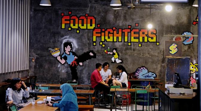 FOOD FIGHTERS – Blok M Melawai, Jakarta