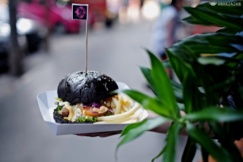 Black Jack Jumbo Burger IDR 45k