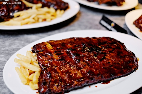 Signature Pork Ribs IDR 358k Half Rack/ IDR 548k Full Rack