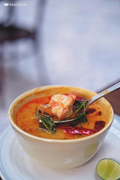 Prawn Tom Yum IDR 55k